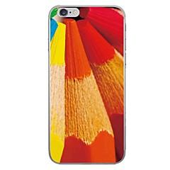 Case for apple iphone 7 7 плюс чехол чехол цветной карандаш узор hd покрашенный толстый материал tpu мягкий чехол для телефона для iphone
