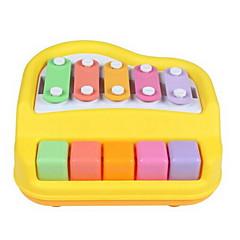 お買い得  オルゴール-敲击木琴 玩具 おもちゃ 楽しい おもちゃ プラスチック 小品 子供用 ギフト