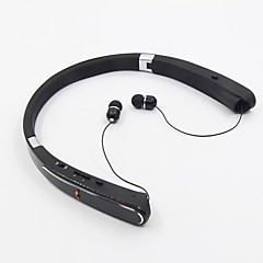 HBS-992 In Ear Neck Band Wireless Headphones Hybrid Plastic Sport & Fitness EarphoneFoldable Noise-isolating with Microphone with Volume