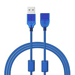 preiswerte -Cwxuan USB 2.0 Verlängerungskabel, USB 2.0 to USB 2.0 Verlängerungskabel Male - Female 1.2m (4Ft) 480 Mbps
