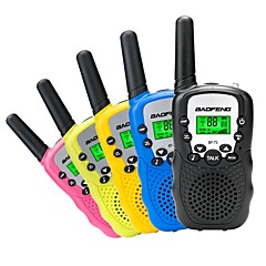 voordelige Walkietalkies-BAOFENG Walkie-talkie Draagbaar VOX Encryptie CTCSS/CDCSS achtergrondverlichting LCD 3km-5km 3km-5km Walkie Talkie Two Way Radio