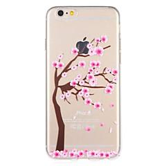 Недорогие Кейсы для iPhone 7 Plus-Кейс для Назначение Apple iPhone 7 Plus iPhone 7 С узором Кейс на заднюю панель Цветы дерево Мягкий ТПУ для iPhone 7 Plus iPhone 7 iPhone