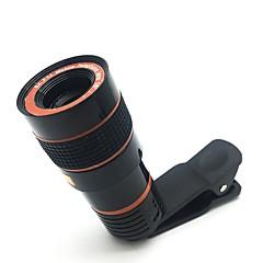 billiga Veckans Erbjudanden-Teleskop kamera lins hd 8x optisk zoom teleskop kamera lins för mobiltelefon med universal klämma lämplig för iphone samsung lg asus sony