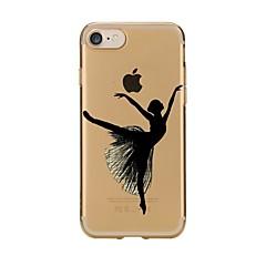 Για iPhone X iPhone 8 Θήκες Καλύμματα Διαφανής Με σχέδια Πίσω Κάλυμμα tok Σέξι κυρία Μαλακή TPU για Apple iPhone X iPhone 8 Plus iPhone 8