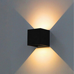 Χαμηλού Κόστους Εξωτερικές Άπλικες-ONDENN 10W LED Προβολείς Διακοσμητικό Ιδιωτική Για Υπαίθρια Χρήση Εξωτερικός Φωτισμός Σαλόνι/Τραπεζαρία Διάδρομος/Σκάλες Γκαράζ Θερμό