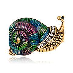 Damskie Rhinestone Klasyczny Modny Postarzane Osobiste luksusowa biżuteria minimalistyczny styl Elegancki biżuteria kostiumowa Kryształ