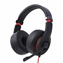 N6 πάνω από ακουστικά ενσύρματα ακουστικά ενσύρματα ακουστικά με μαγνητικό κινητό τηλέφωνο με μικρόφωνο εργονομικό σετ ακουστικών