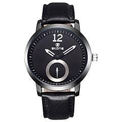 お買い得  メンズ腕時計-男性用 女性用 スポーツウォッチ 軍用腕時計 スマート·ウォッチ クォーツ 30 m 耐水 クロノグラフ付き クリエイティブ PU バンド ハンズ チャーム ぜいたく ヴィンテージ 多色 - ブラック オレンジ コーヒー
