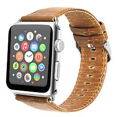 voor appelwatch serie 3 2 1 echte lederen horlogebandje 42mm 38mm