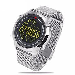 zeblaze ® vibe çelik kemer spor akıllı saatler 365 gün süper bekleme su geçirmez destek android ios sistemleri