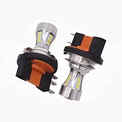 2x mini design super luminos h15 led lumina farurilor h15 mare fază scurtă / condus funcție drl potrivite pentru vw audi bmw ford