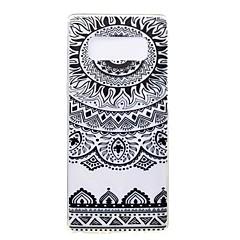 Кейс для Назначение SSamsung Galaxy Note 8 Ультратонкий С узором Задняя крышка Мандала Мягкий Термопластик для Note 8 Note 5 Edge Note 5