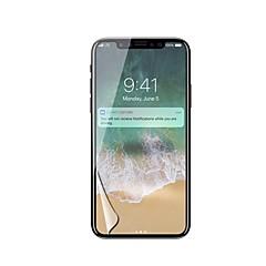 Недорогие Защитные пленки для iPhone X-Защитная плёнка для экрана для Apple iPhone X PET 1 ед. Защитная пленка для экрана HD