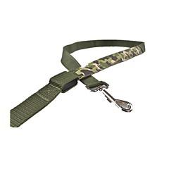 voordelige Hondenhalsbanden, tuigjes & riemen-Hond Lijnen Veiligheid Camouflage Kleur Textiel Binnenwerk Geel Rood Groen Blauw Roze