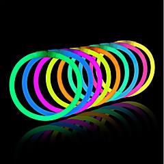 voordelige -oplicht speelgoed glow stick armbanden gemengde kleuren party favoriete benodigdheden (tube van 20)