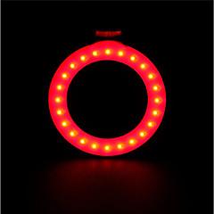 hesapli -Bisiklet Işıkları Yıldırım Bisiklet Arka Işığı emniyet ışıkları Tail Lights LED LED Bisiklet Portatif Ayarlanabilir Yüksek kalite Çabuk