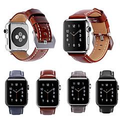 voor appelwatch serie 3/2/1 vintage echte asso echte lederen band armband