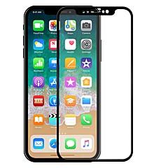 Недорогие Защитные пленки для iPhone X-Защитная плёнка для экрана Apple для iPhone X Закаленное стекло 1 ед. Защитная пленка для экрана Против отпечатков пальцев Защита от