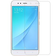 Недорогие Защитные плёнки для экранов Xiaomi-Защитная плёнка для экрана XIAOMI для Xiaomi Mi 5X Закаленное стекло 1 ед. Защитная пленка для экрана Против отпечатков пальцев Защита от