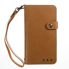 tanie Etui / Pokrowce do Xiaomi-dla pokrowca obudowa uchwyt na karty portfel z podstawką magnetyczną pełną obudowę pokrowiec solidny kolor twardy pu skóra dla xiaomi