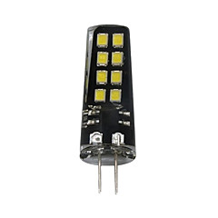 お買い得  LED 電球-1個 3W 200lm G4 LED2本ピン電球 T 16 LEDビーズ SMD 2835 装飾用 温白色 ホワイト 12V