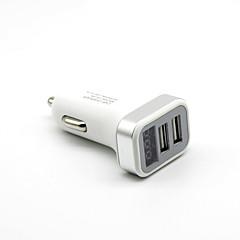 Недорогие Автоэлектроника-Светодиодный дисплей Несколько портов 2 USB порта Только зарядное устройство DC 5V/2,1A