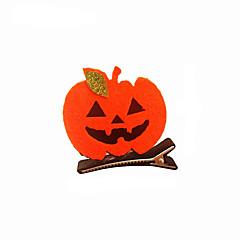 Недорогие Женские украшения-Все Традиционный Декоративные обожаемый Хэллоуин Заколка, Зима Other Бижутерия Черный Оранжевый Красный Лиловый Желтый