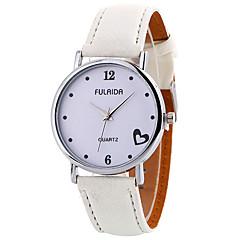 cheap Women's Watches-Women's Quartz Wrist Watch Casual Watch Leather Band Charm Casual Elegant Fashion Cool Black White Brown