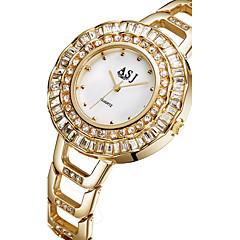 お買い得  レディース腕時計-ASJ 女性用 リストウォッチ 日本産 カジュアルウォッチ 合金 バンド チャーム / ファッション シルバー / ゴールド / ステンレス