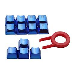 e-element çift atışlı pbt tuş vuruşları 12 translucidus arkadan aydınlatmalı kiraz anahtarları için anahtarlıklar mekanik klavyeler