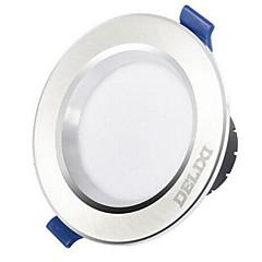 1pc 5w οδήγησε κάτω φωτιστικό φώτα φωτός dimmable ζεστό κίτρινο ζεστό λευκό / λευκό ac220v 3000/4000 / 6500k άνοιγμα μεγέθους 100mm