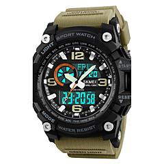 preiswerte Digitaluhren-SKMEI Herrn digital Armbanduhr / Militäruhr / Sportuhr Japanisch Alarm / Kalender / Chronograph / Wasserdicht / Kreativ / Großes