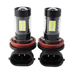 voordelige -H8 / 9006 / 9005 Automatisch Lampen 44W SMD 3030 3800lm 44 Mistlamp For Universeel Alle Modellen Alle jaren