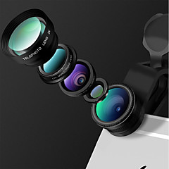 HEYANG Smartphone Camera Lenses 0.65X Wide Angle Lens 10X Macro Lens Fish-eye Lens Long Focal Lens CPL for ipad iphone Huawei xiaomi samsung