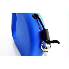 お買い得  犬用首輪/リード/ハーネス-犬 リード 携帯用 ソリッド ナイロン ブルー
