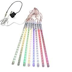 お買い得  LED ストリングライト-0.3m ストリングライト 18*8 LED ホワイト / ブルー / マルチカラー 100-240 V 1セット