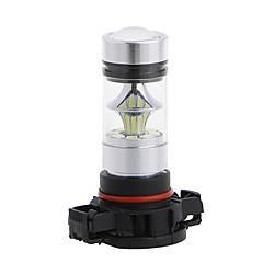 Недорогие Противотуманные фары-2pcs H16 Автомобиль Лампы 100W SMD LED 8000lm 20 Противотуманные фары For Универсальный Все модели Все года