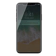 Недорогие Защитные пленки для iPhone X-Защитная плёнка для экрана Apple для iPhone X Закаленное стекло 1 ед. Защитная пленка для экрана 3D закругленные углы Anti-Spy Против