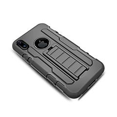 Назначение iPhone X iPhone 8 iPhone 8 Plus Чехлы панели со стендом Чехол Кейс для броня Твердый PC для Apple iPhone X iPhone 8 Plus
