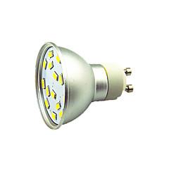 1 st 3W LED-spotlights 15 lysdioder SMD 5730 Dekorativ Varmvit Kallvit 300lm 3000-7000K AC 12V