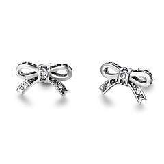 Χαμηλού Κόστους Γυναικεία Κοσμήματα-Γυναικεία Κουμπωτά Σκουλαρίκια μινιμαλιστικό στυλ Ασήμι Στερλίνας Πεταλούδα Κοσμήματα Για Καθημερινά