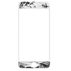 Sticlă securizată Ecran protector pentru Apple iPhone 6s iphone 6 Ecran Protecție Întreg High Definition (HD) 9H Duritate La explozie