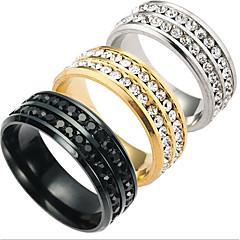 رخيصةأون -للرجال للمرأة خواتم حزام موضة الصلب التيتانيوم مجوهرات مجوهرات من أجل يوميا