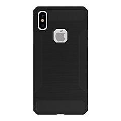 для крышки случая ударопрочная матовая задняя крышка случая сплошной цвет мягкий tpu для яблока iphone x iphone 8 плюс iphone 8 iphone 7