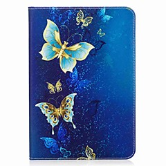 cheap Tablet Cases-Case For Samsung Galaxy Tab S2 8.0 Full Body Cases Tablet Cases Butterfly Hard PU Leather for