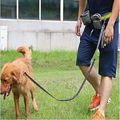 Hond Lijnen Handsfree lijn Trainer Reflecterend draagbaar Ademend Verstelbaar Effen Nylon Zwart Grijs Rood
