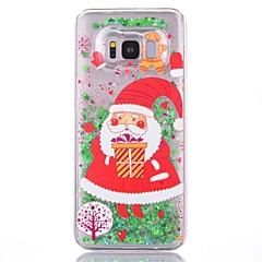 voordelige Galaxy S6 Hoesjes / covers-hoesje Voor S8 Plus S8 Stromende vloeistof Patroon Achterkantje Kerstmis Hard PC voor S7 edge S7 S6 edge S6