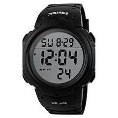 billige Dame Ure-Herre Dame Unik Creative Watch Digital Watch Sportsur Militærur Kjoleur Smartur Modeur Armbåndsur Kinesisk Digital Alarm Kalender