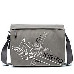 Laukku Innoittamana Sword Art Online Kirito Anime Cosplay-Tarvikkeet Canvas