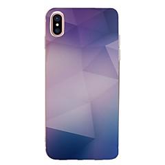 для корпуса крышка прозрачный узор задняя крышка чехол геометрический узор мягкий tpu для iphone яблоко iphone 8 плюс iphone 8 iphone 7